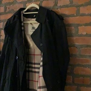 Wool-Lined Burberry Trench Coat